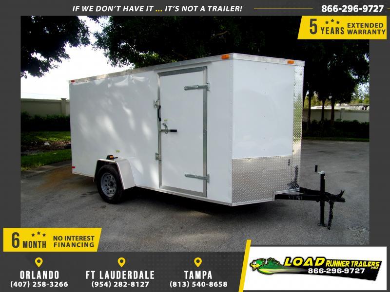 *112268* 6x12 Enclosed Cargo Trailer |LRT Haulers & Trailers 6 x 12