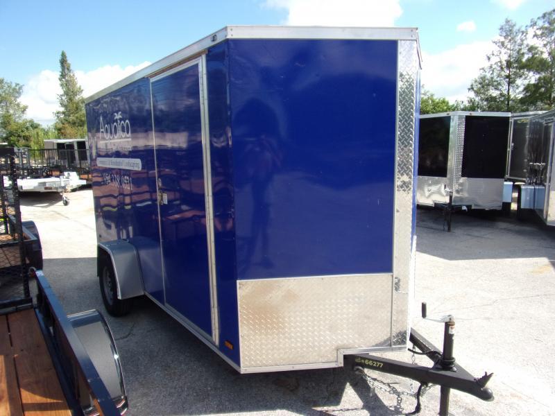 *114084* 6x12 Enclosed Cargo Trailer |LRT Haulers & Trailers 6 x 12