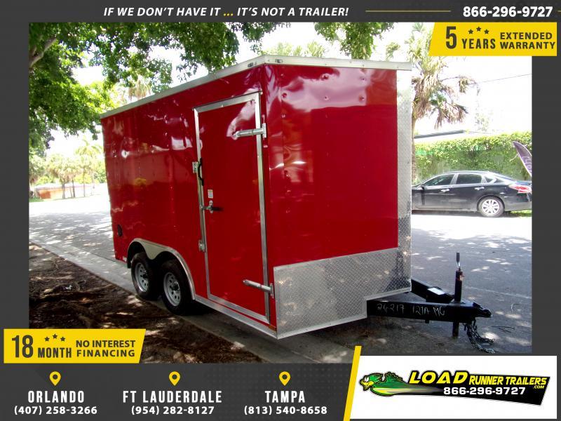 *115615* 8.5x12 7K Enclosed Cargo Trailer  LRT Trailers 8.5 x 12