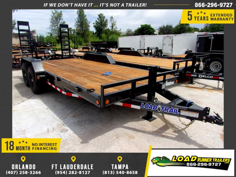 *110504* 7x18 Equipment Trailer |LRT Tandem Axle Trailers 7 x 18