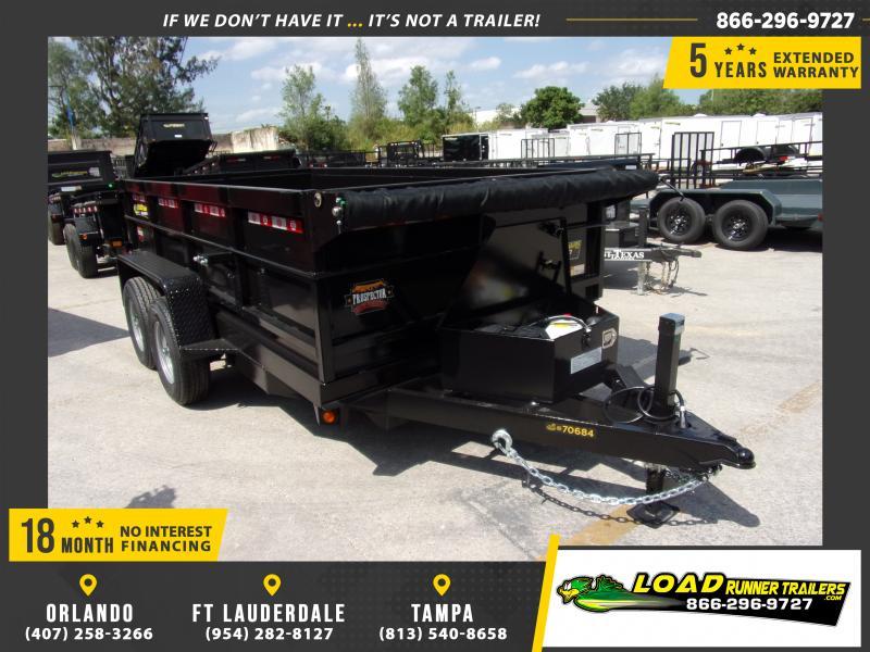 *116464* 6x12 5 TON Dump Trailer |LRT Trailers & Dumps 6 x 12