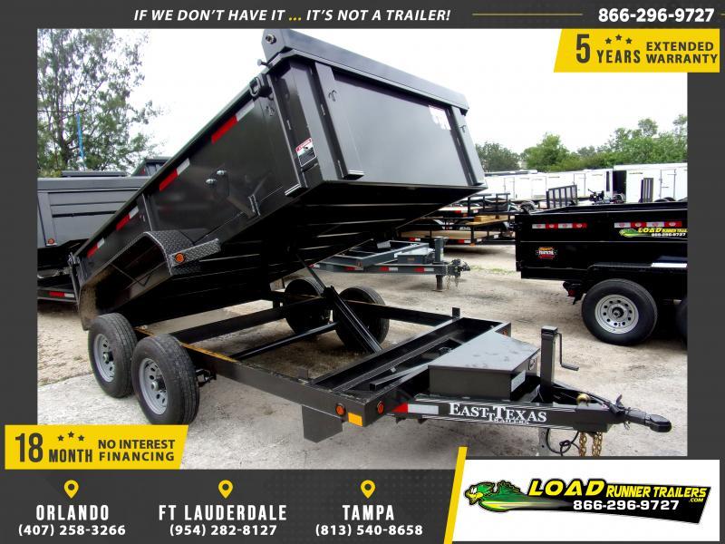 *115587* 6.5x12 6 TON Dump Trailer |LRT Dumps and Trailers 6.5 x 12