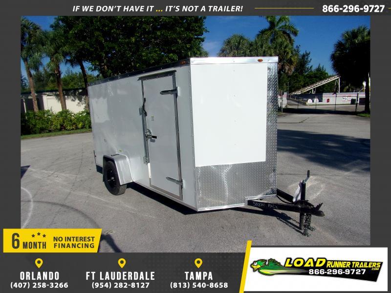 *116612* 6x12 Enclosed Cargo Trailer |LRT Haulers & Trailers 6 x 12