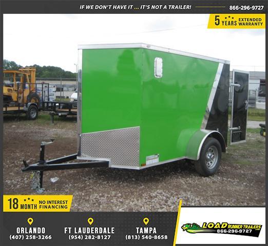 *E1* 5x8 Enclosed Cargo Trailer |LRT Haulers & Trailers 5 x 8 | EV5-8S3-R