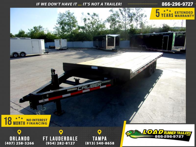*115069* 8.5x20 Flatbed Deck Over Trailer  LRT Tandem Axle Trailers 8.5 x 20