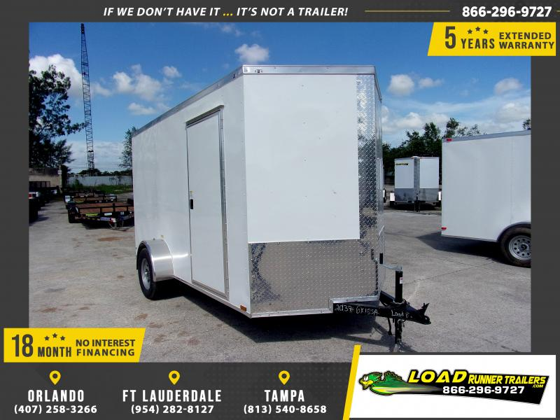 *114781* 6x12 Enclosed Cargo Trailer |LRT Haulers & Trailers 6 x 12
