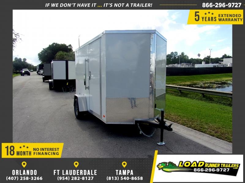 *111084* 6x10 Enclosed Cargo Trailer |LRT Haulers & Trailers 6 x 10