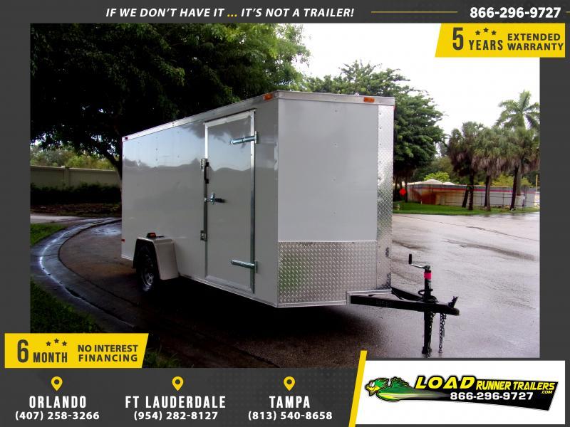 *115044* 6x12 Enclosed Cargo Trailer |LRT Haulers & Trailers 6 x 12