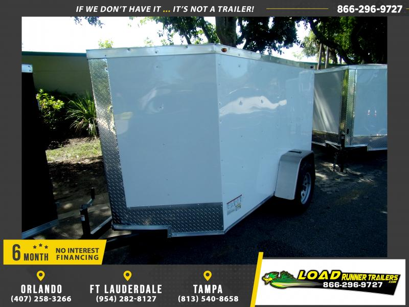 *117978* 5x8 Enclosed Cargo Trailer |LRT Haulers & Trailers 5 x 8