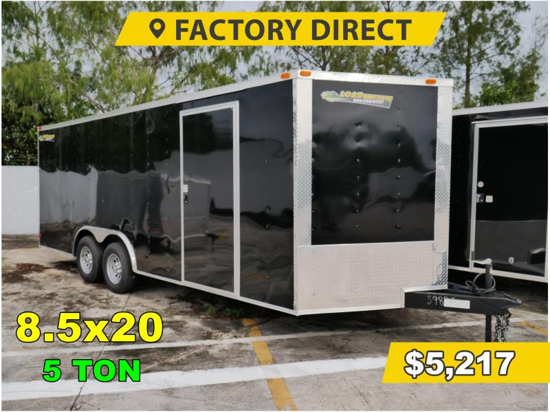 *FD41* 8.5x20 FACTORY DIRECT! Enclosed Cargo Trailer 8.5 x 20