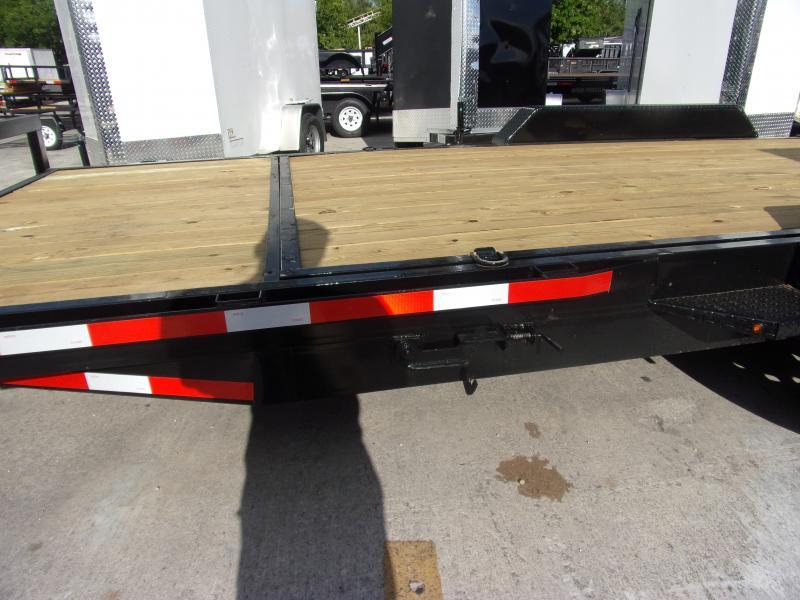 *115066* 7x16 Tilt Deck Trailer |LRT Tandem Axle Trailers 7 x 16