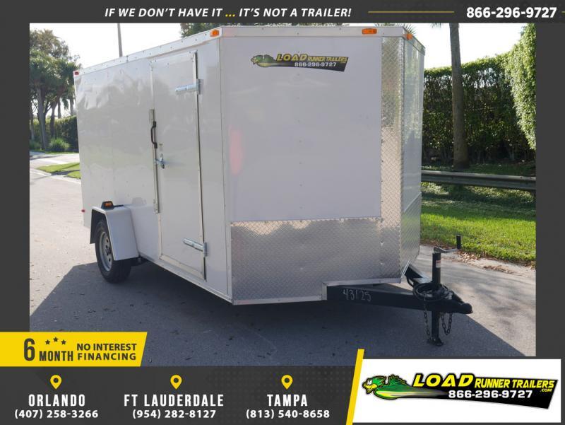 *108833* 7x12 Enclosed Cargo Trailer |LRT Haulers & Trailers 7 x 12
