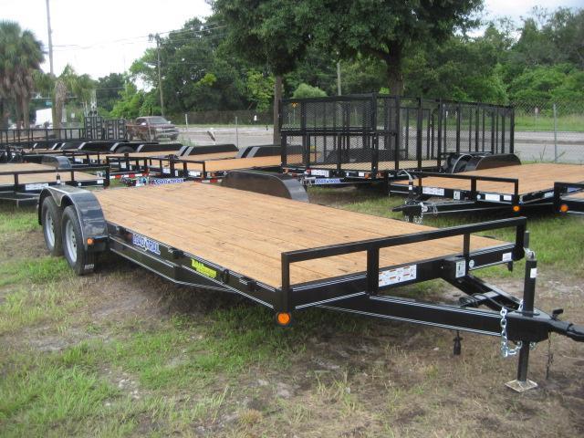 *CH35* 7x20 Car Hauler Trailer 7K Haulers & Trailers w/Brakes 7 x 20 | CH83-20T3-1B