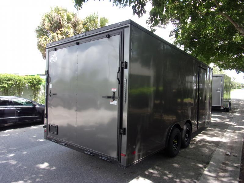 *111348* 8.5x20 Enclosed Cargo Trailer |LRT Tandem Axle Trailers 8.5 x 20