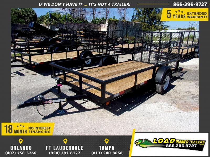 *113555* 6x12 Utility Lawn ATV Multipurpose Trailer  LRT Haulers & Trailers 6 x 12