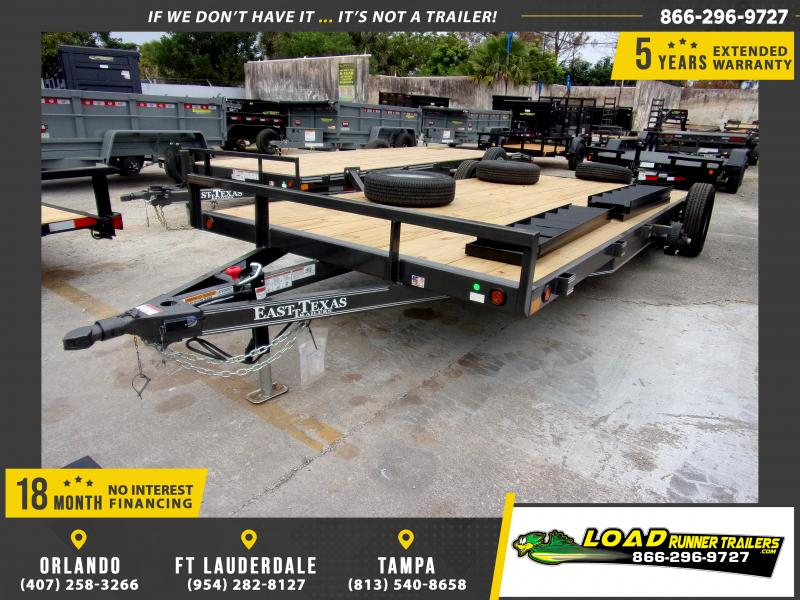 *112889* 7x18 Car Trailer |LRT Tandem Axle Trailers 7 x 18