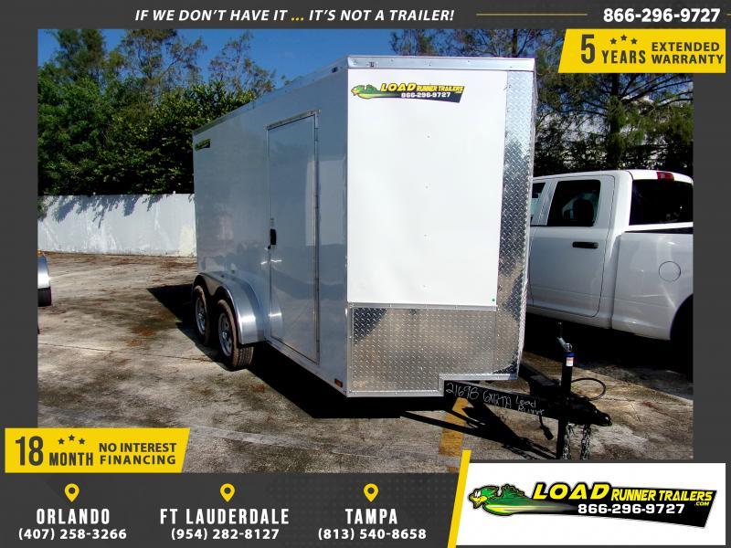 *116580* 6x12 Enclosed Cargo Trailer  LRT Tandem Axle Trailers 6 x 12