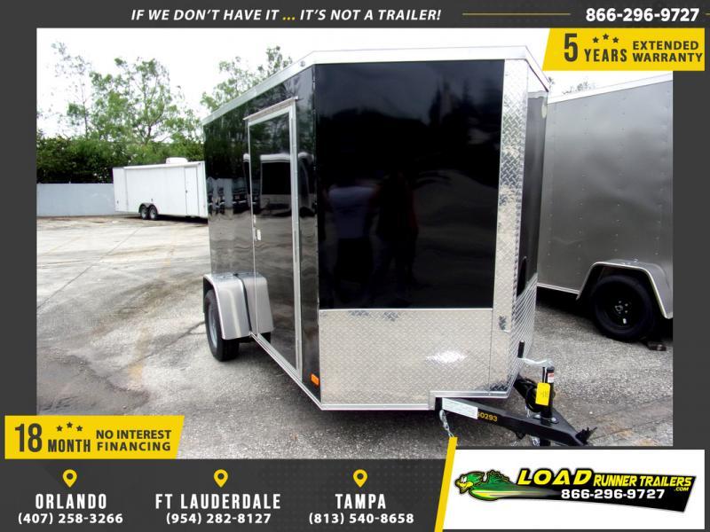*109774* 6x10 Enclosed Cargo Trailer |LRT Haulers & Trailers 6 x 10