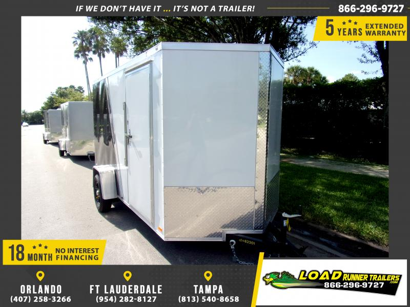 *110352* 6x12 Enclosed Cargo Trailer  LRT Haulers & Trailers 6 x 12