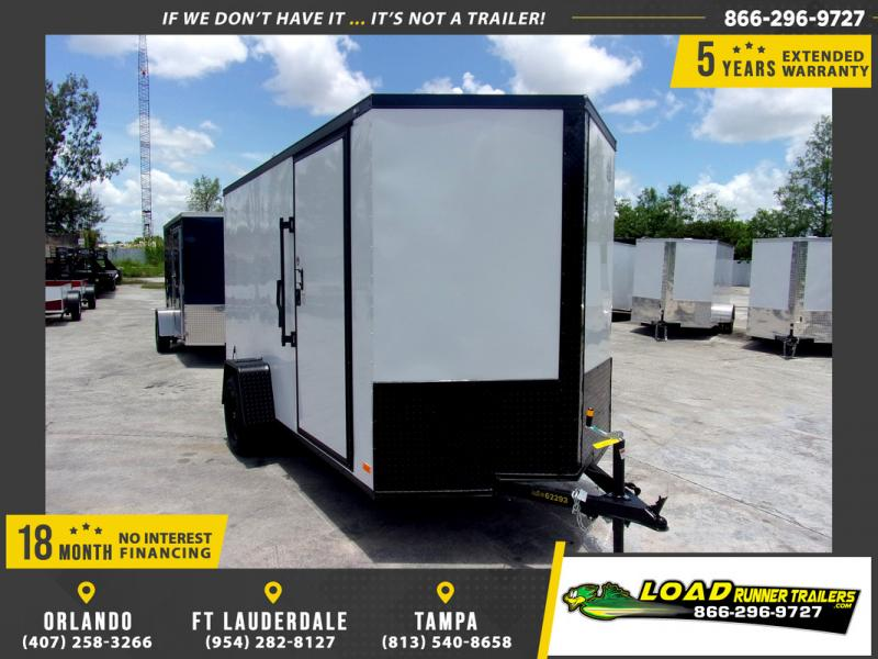 *110114* 6x12 Enclosed Cargo Trailer |LRT Haulers & Trailers 6 x 12