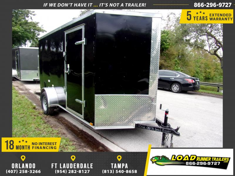 *112329* 6x12 Enclosed Cargo Trailer |LRT Haulers & Trailers 6 x 12