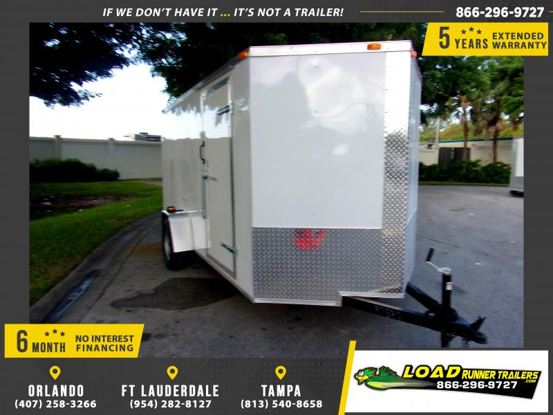 *111692* 6x12 Enclosed Cargo Trailer |LRT Haulers & Trailers 6 x 12