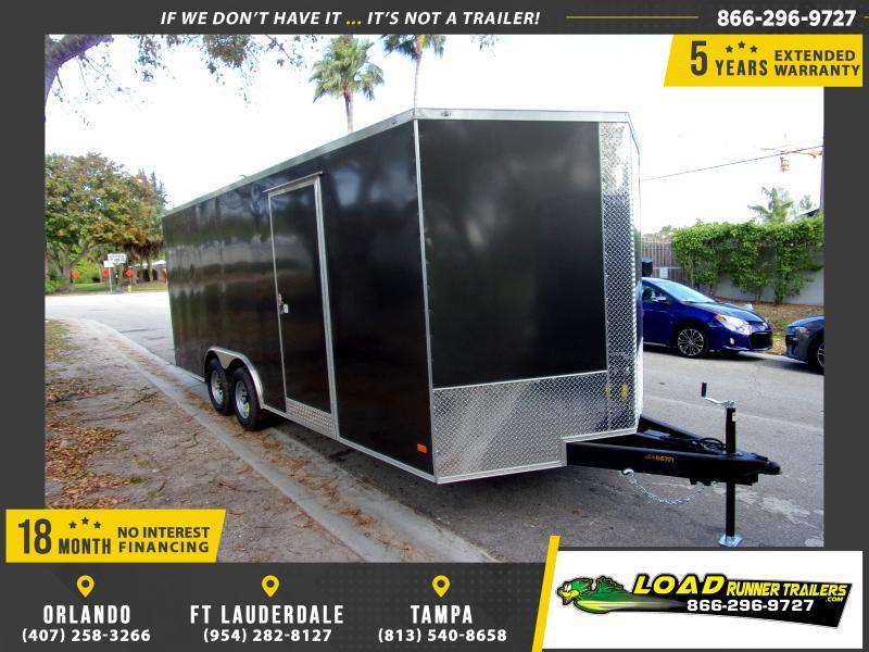 *114578* 8.5x20 Enclosed Cargo Trailer |LRT Tandem Axle Trailers 8.5 x 20