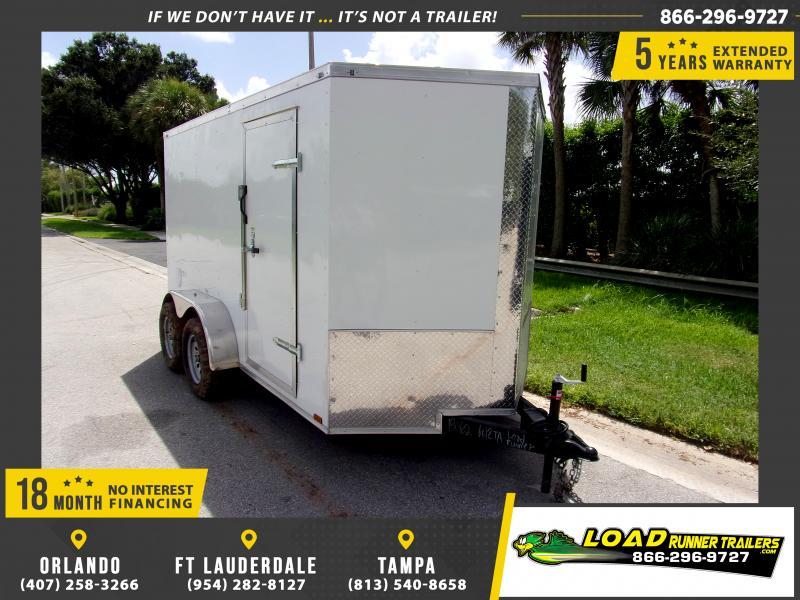 *114538* 6x12 Enclosed Cargo Trailer  LRT Tandem Axle Trailers 6 x 12