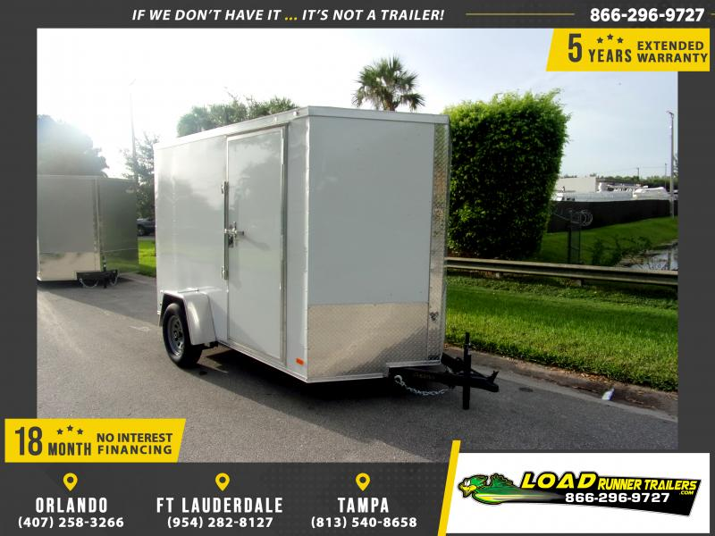 *111021* 8.5x24 Enclosed Cargo Trailer |LRT Tandem Axle Trailers 8.5 x 24