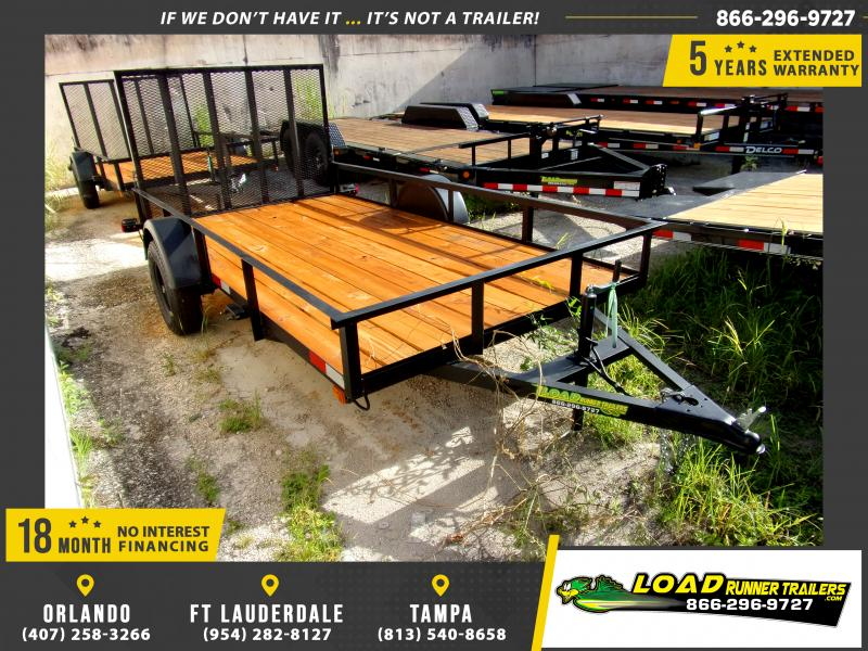 *110634* 6x12 Utility|Lawn|ATV|Multipurpose Trailer |LRT Haulers & Trailers 6 x 12