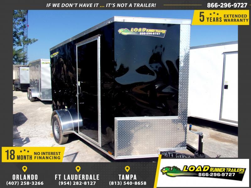 *112346* 6x10 Enclosed Cargo Trailer  LRT Haulers & Trailers 6 x 10
