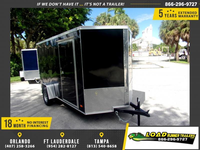 *117928* 6x12 Enclosed Cargo Trailer |LRT Haulers & Trailers 6 x 12