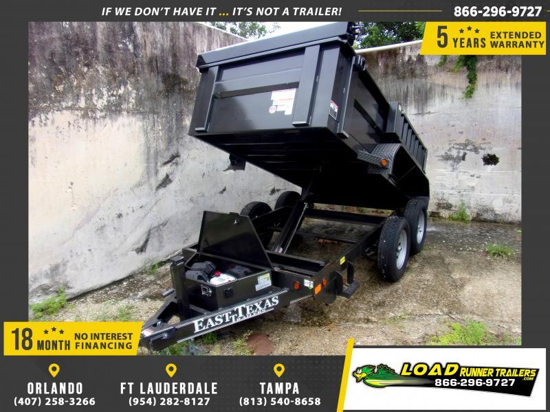 *117424* 5x10 Dump Trailer  LRT Tandem Axle Trailers 5 x 10