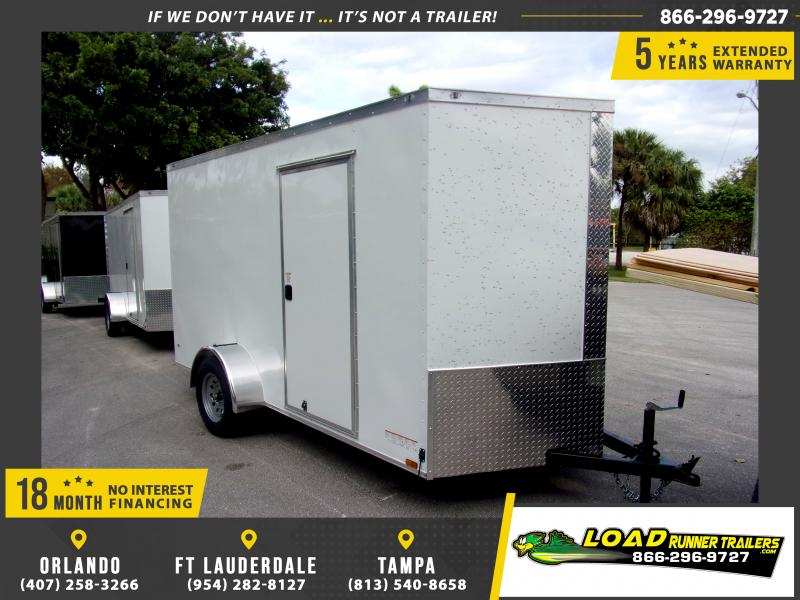 *113144* 6x12 Enclosed Cargo Trailer |LRT Haulers & Trailers 6 x 12
