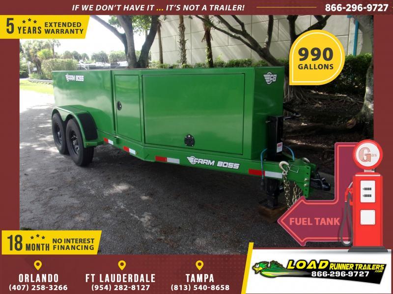 *116295* 5x10 Fuel Tank Trailer | LRT Tank Trailers 5 x 10