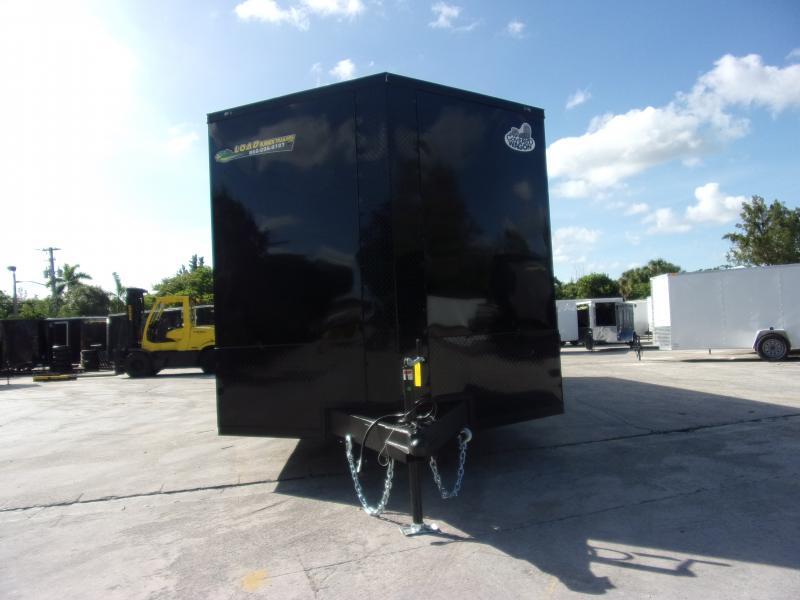 *112043* 8.5x28 Enclosed Cargo Trailer |LRT Tandem Axle Trailers 8.5 x 28