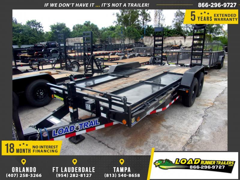 *117035* 7x16 Equipment Trailer |LRT Tandem Axle Trailers 7 x 16