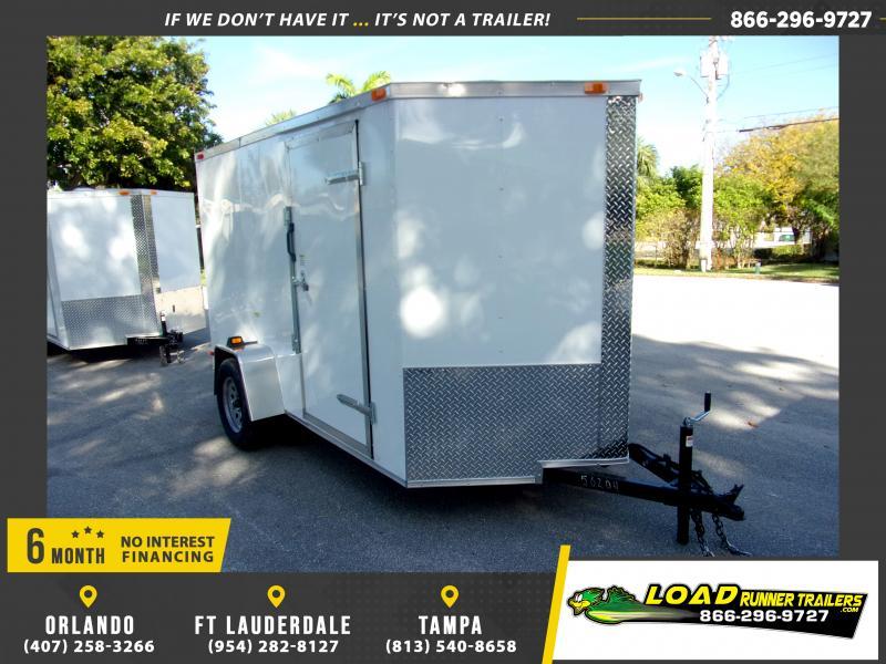 *113838* 6x10 Enclosed Cargo Trailer |LRT Haulers & Trailers 6 x 10