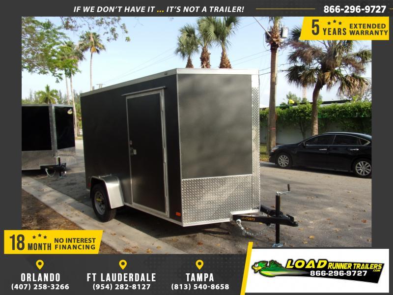 *114909* 6x10 Enclosed Cargo Trailer |LRT Haulers & Trailers 6 x 10