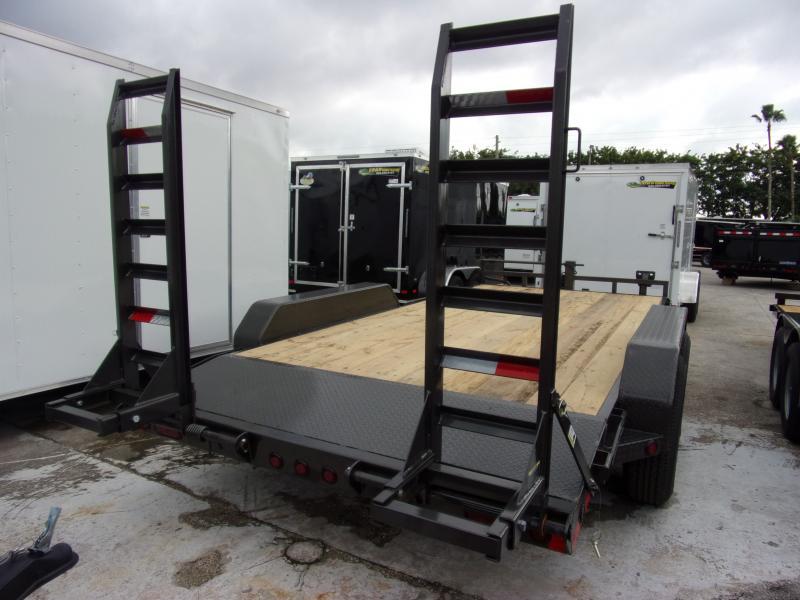 *112247* 7x16 Equipment Trailer  LRT Tandem Axle Trailers 7 x 16