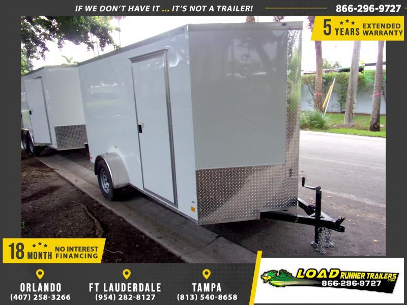 *116506* 6x12 Enclosed Cargo Trailer |LRT Haulers & Trailers 6 x 12