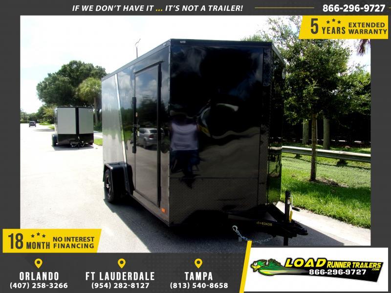 *117830* 7x12 Enclosed Cargo Trailer |LRT Haulers & Trailers 7 x 12