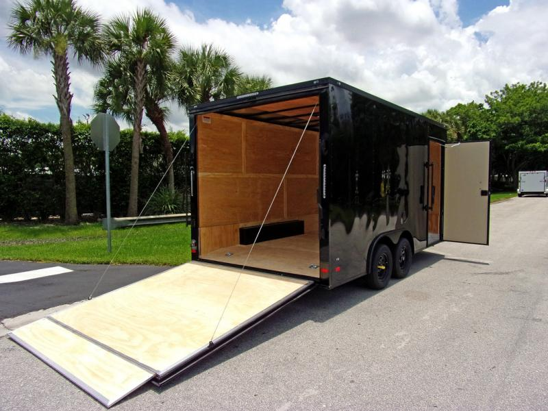 *110035* 8.5x16 Enclosed Cargo Trailer |LRT Tandem Axle Trailers 8.5 x 16