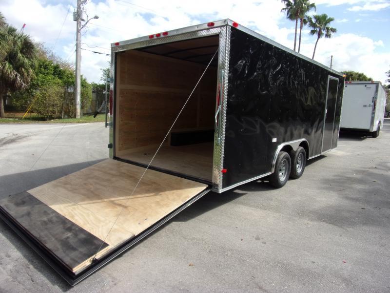 *117252* 8.5x20 Enclosed Cargo Trailer |LRT Tandem Axle Trailers 8.5 x 20