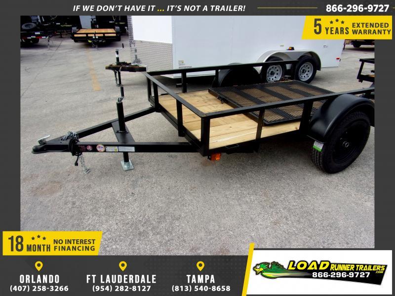*116881* 5x8 Utility|Lawn|ATV|Multipurpose Trailer |LRT Haulers & Trailers 5 x 8