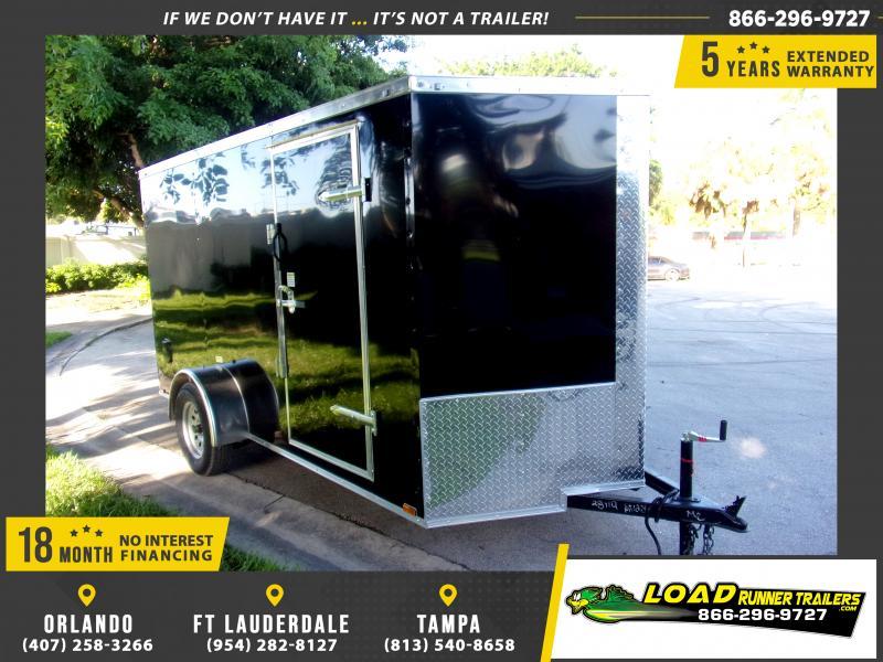 *118010* 6x12 Enclosed Cargo Trailer  LRT Haulers & Trailers 6 x 12