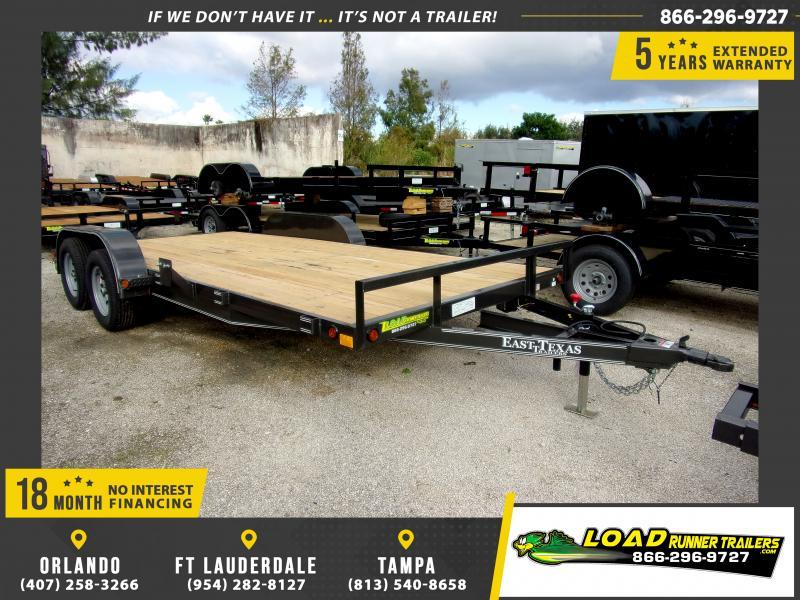 *111832* 7x18 Car Trailer |LRT Tandem Axle Trailers 7 x 18