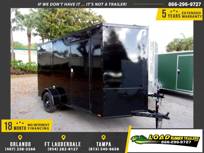 *114564* 6x12 Enclosed Cargo Trailer |LRT Haulers & Trailers 6 x 12
