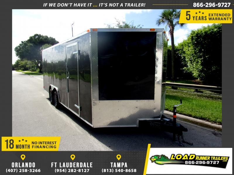 *117018* 8.5x20 Enclosed Cargo Trailer |LRT Tandem Axle Trailers 8.5 x 20