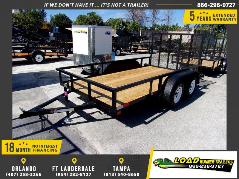 *113537* 6x12 Utility Lawn ATV Multipurpose Trailer  LRT Tandem Axle Trailers 6 x 12